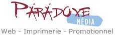 Paradoxe Media - Conception de sites Internet - Imprimerie - Promotionnel